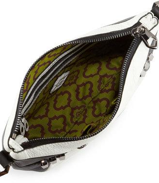 Oryany Alpha Two-Tone Crossbody Bag, Black/White