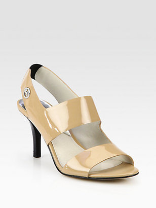 MICHAEL Michael Kors Rochelle Patent Leather Sandals