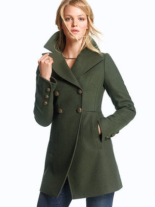 Victoria's Secret Double-breasted Military Coat