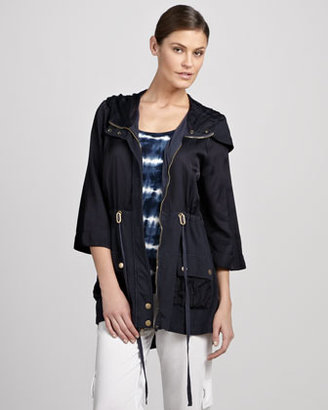 XCVI Aquarius Hooded Coat