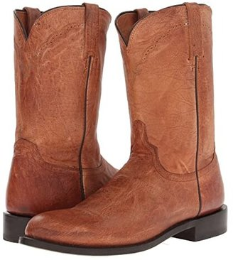 Lucchese M1017.C2 (Tan Mad Dog Goat Roper) Cowboy Boots