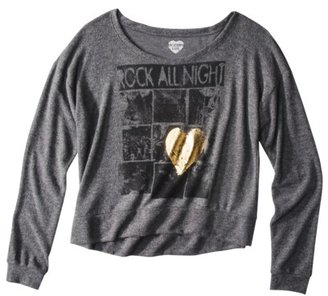 Juniors Rock Zone Graphic Tee - Charcoal