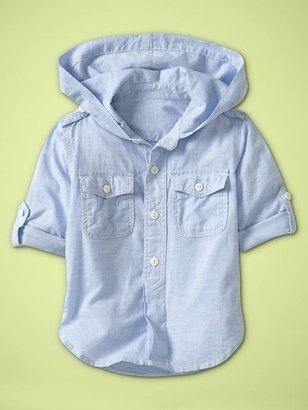 Gap Convertible hoodie popover