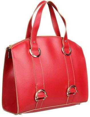 Ivanka Trump Alexis Top Zip Satchel (Red) - Bags and Luggage