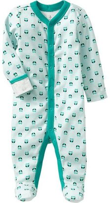 Old Navy Printed Jersey One-Pieces for Baby