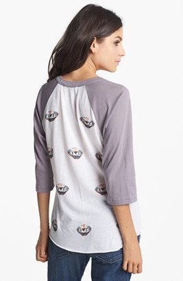 Wildfox Couture 'Diamonds Are Forever' Raglan Sleeve Top