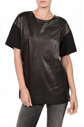 BLK DNM Oversized Top - Black