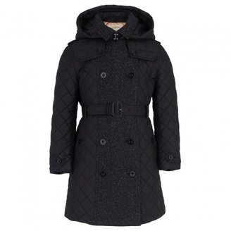 Burberry Double Breasted Quilt Coat