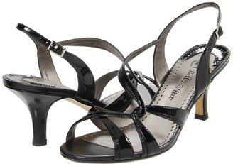Bella Vita Sante (Black Patent/Black Kidskin) - Footwear
