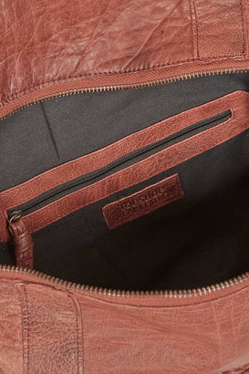 Topshop Leather Whipstitch Holdall
