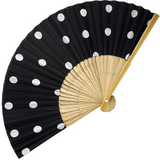 Accessorize Polka Dot Fan