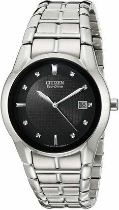 Citizen Men's BM6670-56E Eco-Drive Stainless Steel Dial Watch