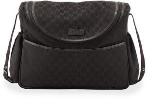 Gucci GG Supreme Zip Diaper Bag