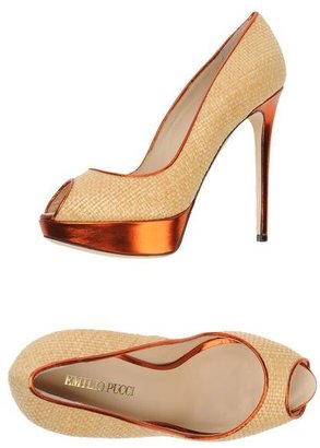 Emilio Pucci Pumps with open toe