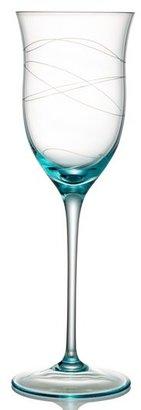 Nambe 'Motus - Blue' Wine Glasses (Set of 2)