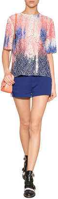 MSGM Shorts with Contrast Side Trim