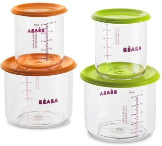 Beaba Baby Food Containers, Set of 4