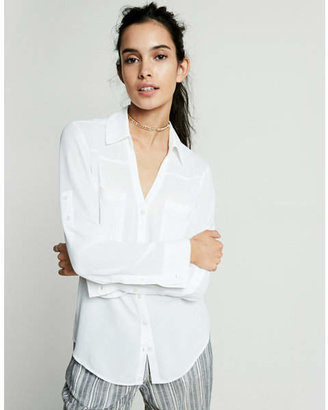 Express original fit convertible sleeve portofino shirt $49.90 thestylecure.com