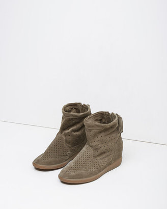 Isabel Marant Basley Suede Moccasin Boot