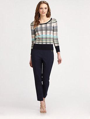 Tory Burch Falon Cotton Sweater