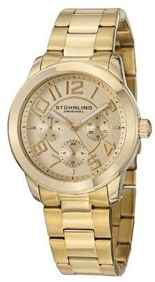 Stuhrling Original Women's 807.02 Classic Regal MF Analog Display Quartz Gold Watch
