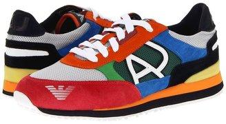 Armani Jeans Low Top Trainer (Multi) - Footwear