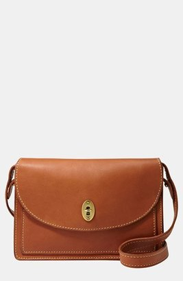 Fossil 'Austin' Convertible Leather Clutch