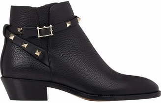 Valentino Women's Rockstud Ankle Boots