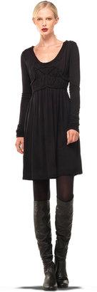 Max Studio Jersey Long Sleeve Dress