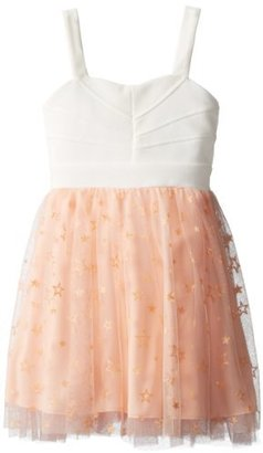Ruby Rox Big Girls' Party Dress with Sparkly Skirt