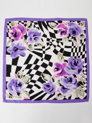 American Apparel Vintage Graphic Roses Scarf