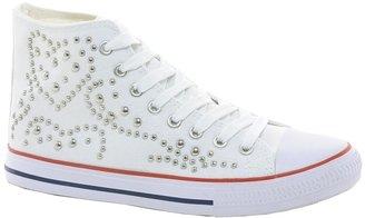 Timeless Studded Hi-Top Sneaker
