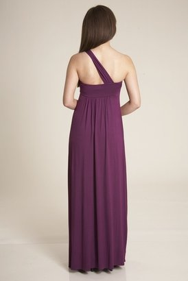 Lauren Conrad Nora Long Dress in Sugarplum