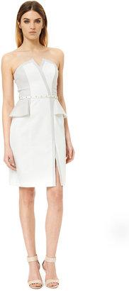 Rebecca Taylor Sateen Strapless Dress