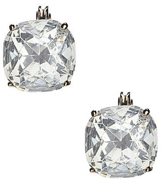 Kate Spade Crystal Stud Clip Earrings