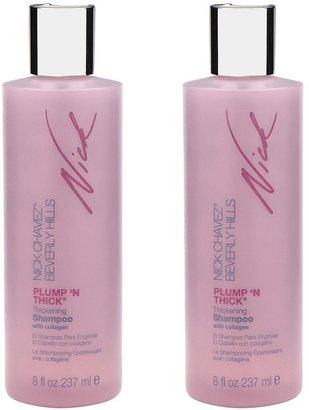 Nick Chavez Plump 'N Thick Thickening Shampoo Duo