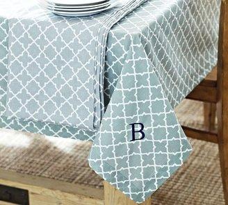 Pottery Barn Roz Tile Tablecloth