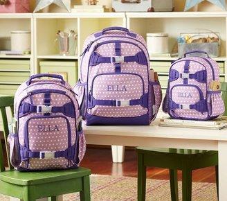 Pottery Barn Kids Mackenzie Lavender Dot Backpacks