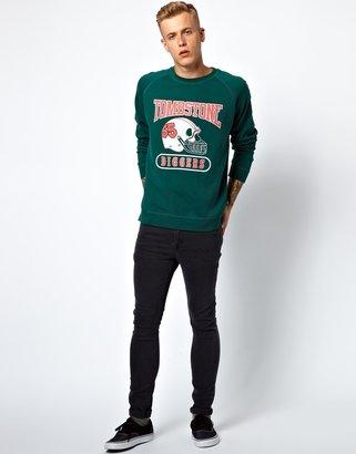 Diesel Sweatshirt With Retro Print