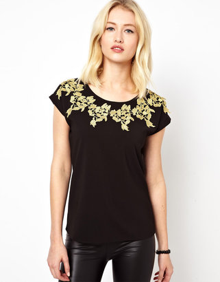 Beloved Top With Lace Trim