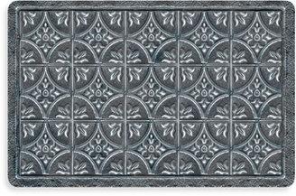Bed Bath & Beyond Bungalow Flooring New Wave Tin Tile Pewter Doormat
