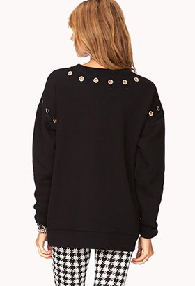 Forever 21 Secret Rebel Sweatshirt