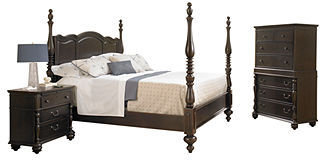 Paula Deen Bedroom Furniture, California King 3 Piece Set (Bed, Chest and Nightstand)