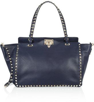 Valentino The Rockstud medium leather trapeze bag