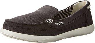crocs Women's Walu Canvas Loafer $25.01 thestylecure.com
