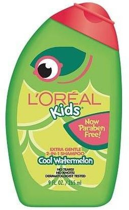 L'Oreal Kids 2 in 1 Shampoo, Extra Gentle Burst of Watermelon