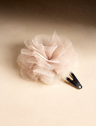 The Limited Puff Flower Clip