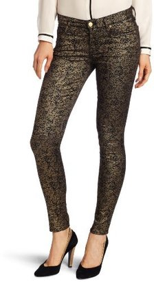 7 For All Mankind Women's Print Skinny Jean in Medalion
