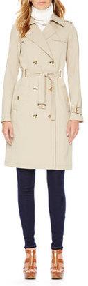 MICHAEL Michael Kors Grommet Trenchcoat