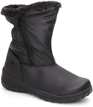 totes Black Rikki Winter Boots $70 thestylecure.com